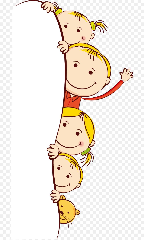 Child Cartoon Clip art - Cute cartoon kids frame png download - 768 ...