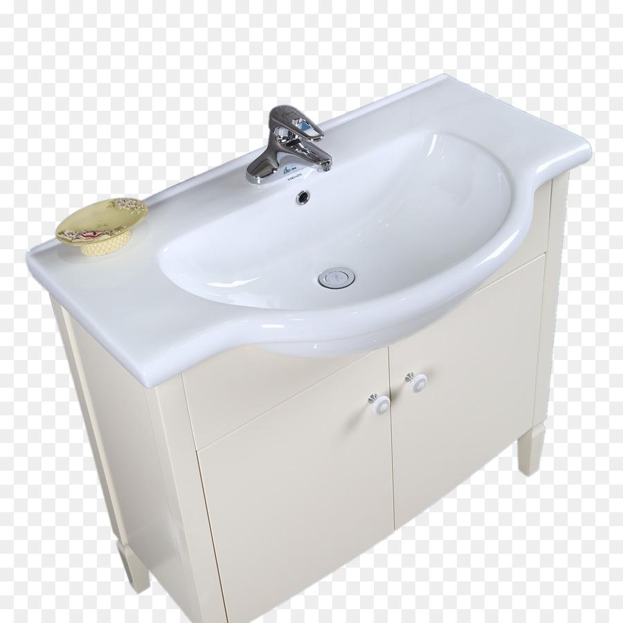 Tap Hand washing Bidet Sink - Simple white sink png download - 1280 ...