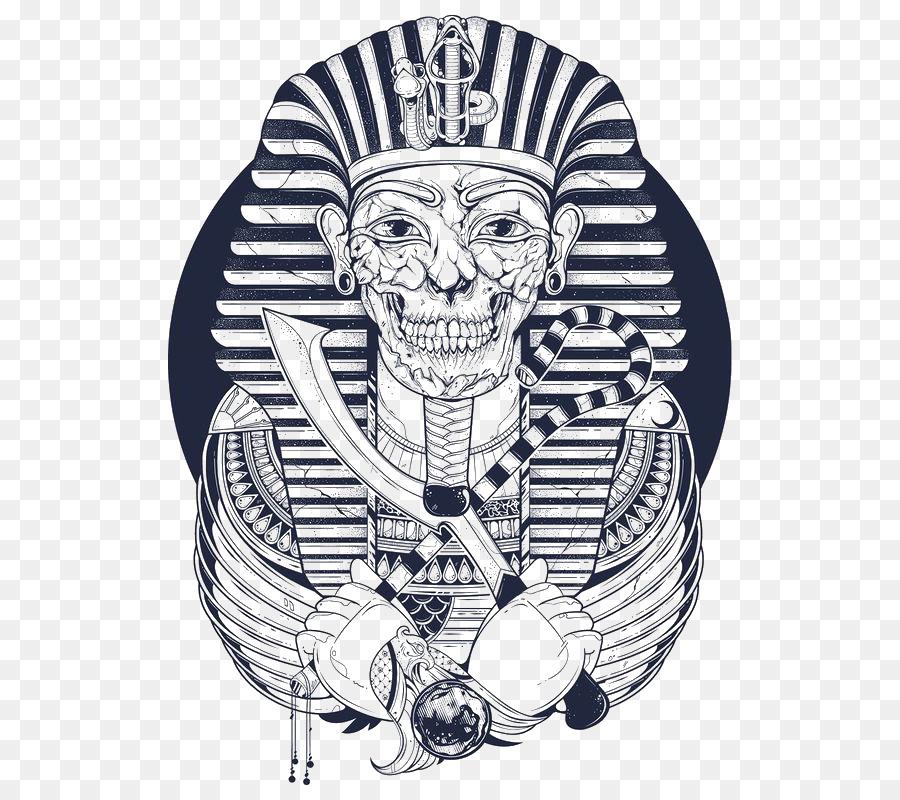 T Shirt Drawing Screen Printing Illustration Egyptian