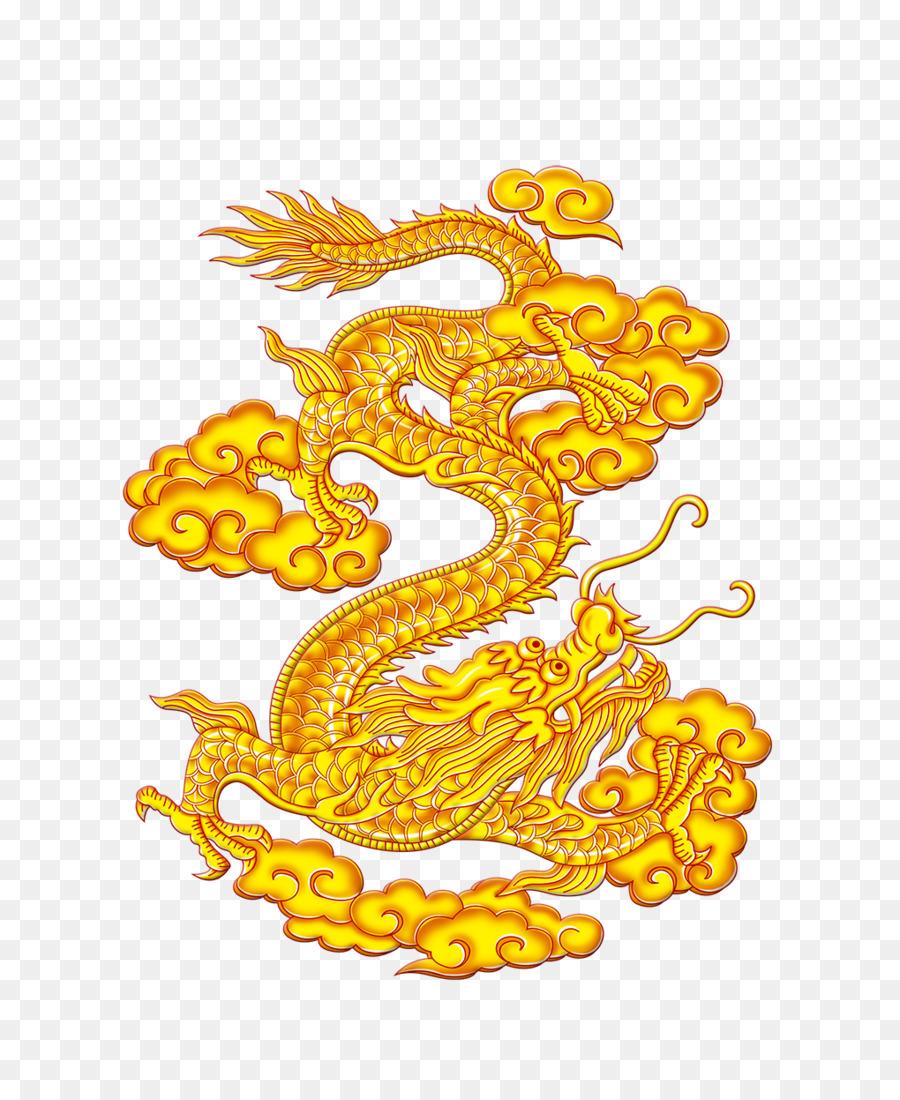 China Chinese dragon Yinglong - Dragon png download - 1020*1246 ...