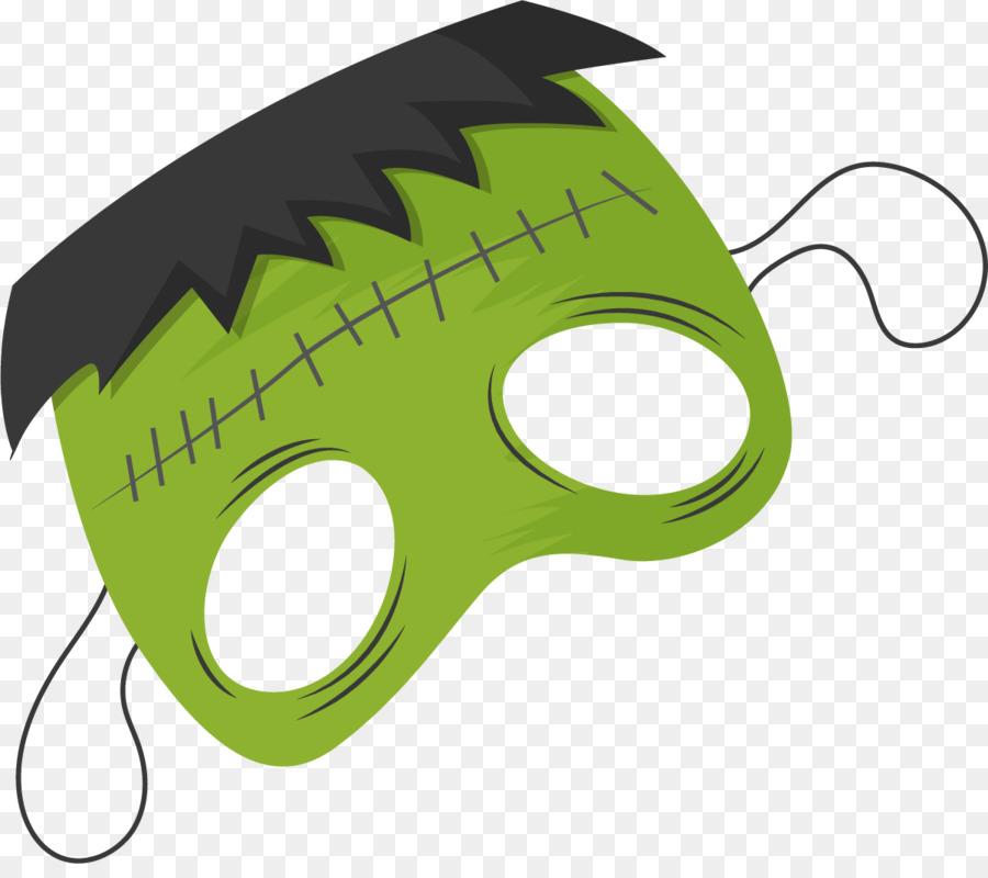 Hulk Frankenstein Mask Cartoon Hulk Mask Png Download 12011050