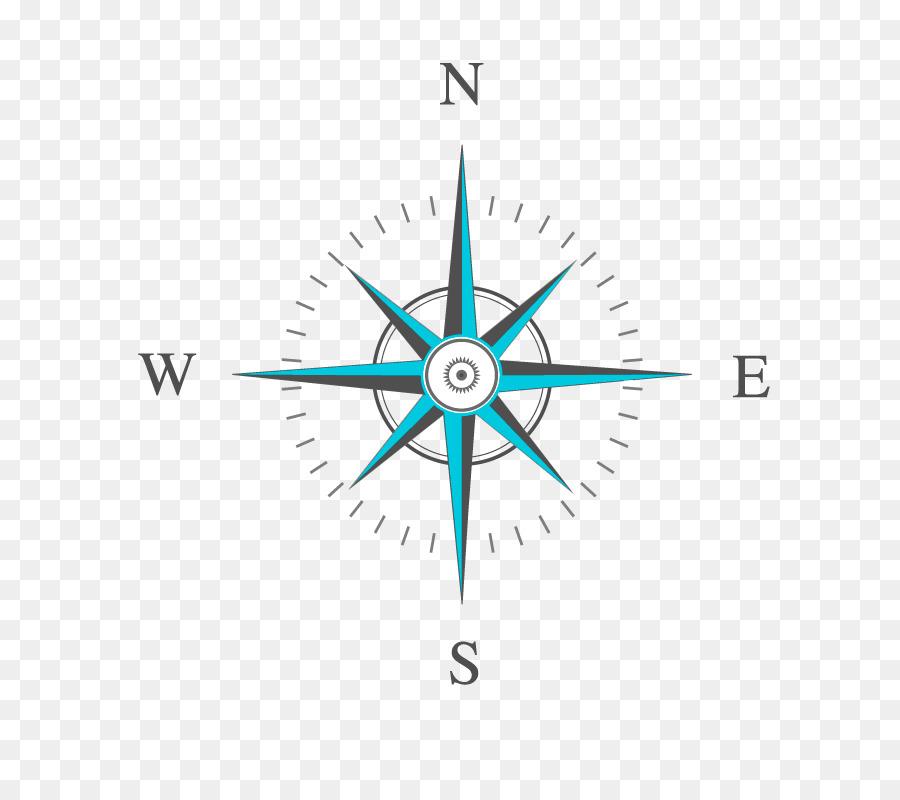 North Compass Rose Euclidean Vector Vector Compass Png Download