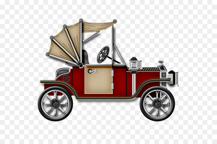 Vintage car Clip art - Old car PNG material png download - 600*600 ...