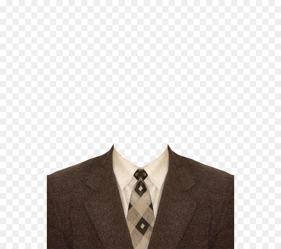 suit template shirt flower brown suit and tie png download 600