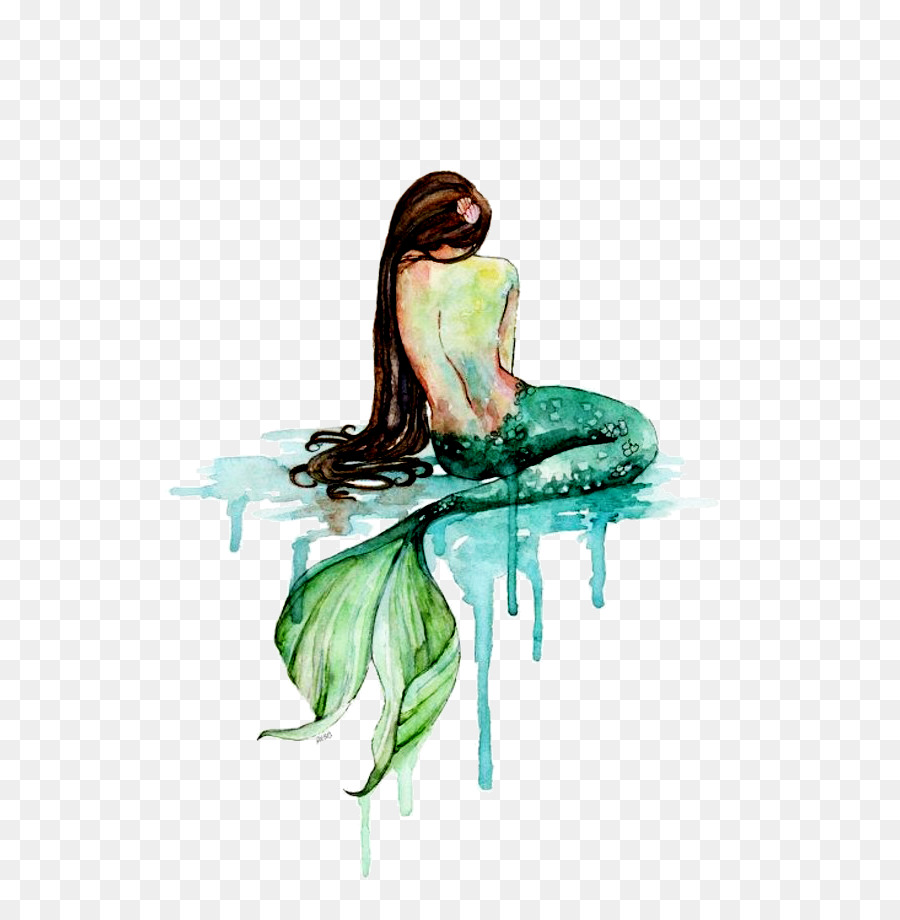 Mermaid Pictures To Paint