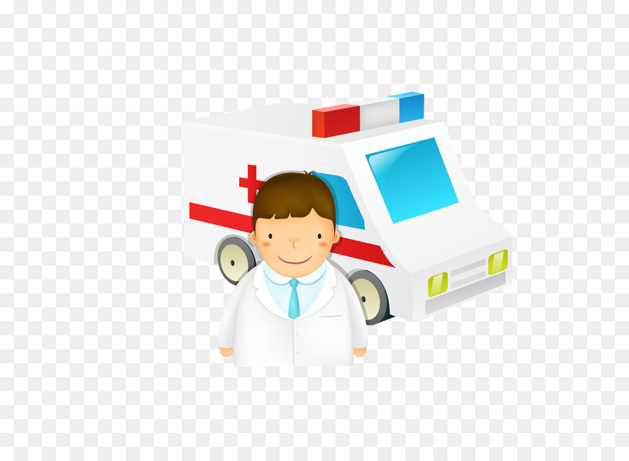 Microsoft Powerpoint Template Medicine Ambulance Presentation Slide