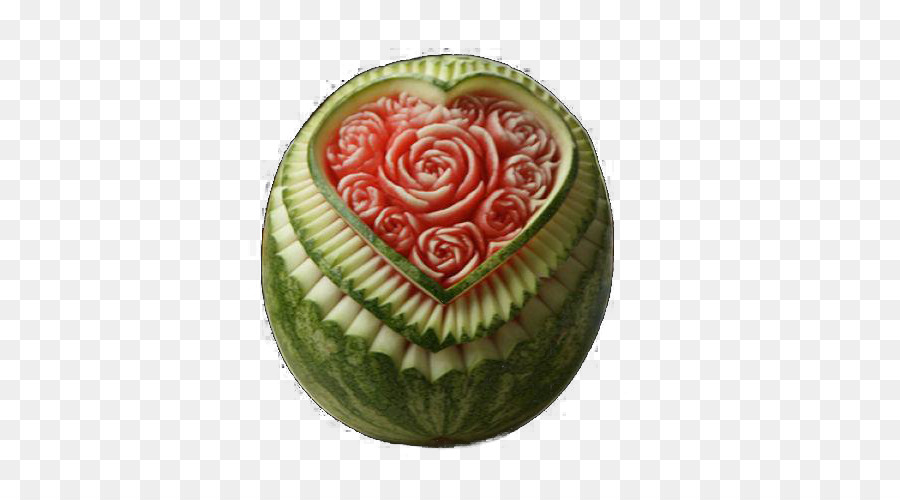 Watermelon fruit carving vegetable carving carved watermelon png