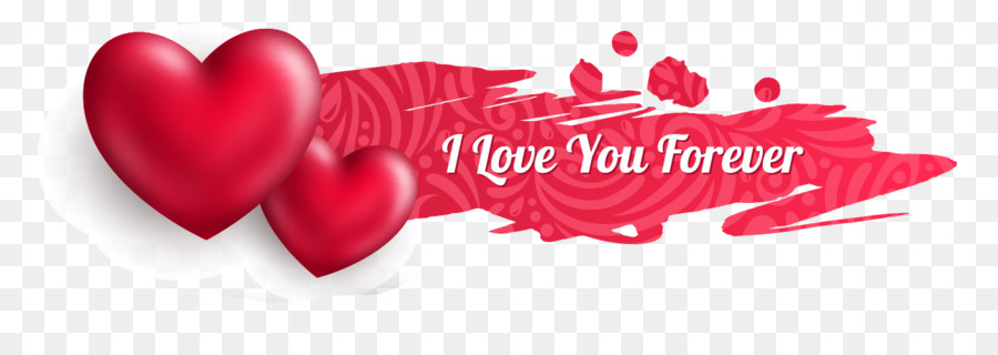 valentine s day heart web banner euclidean vector red love png