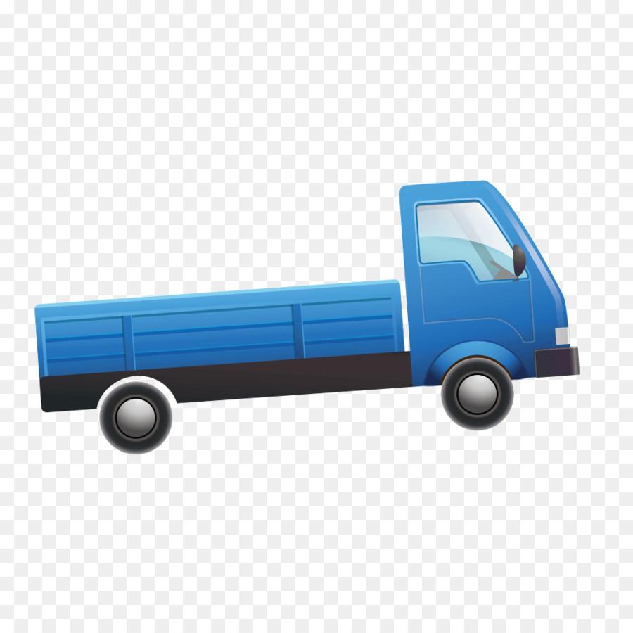 Coche camión de la Recogida del Vehículo - Vector de dibujos ...
