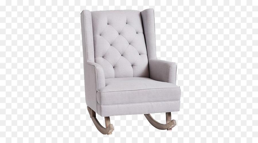 Rocking Chair Tufting Glider Ottoman   Sofa Sofa Chair Silhouette  Icon,White Sofa