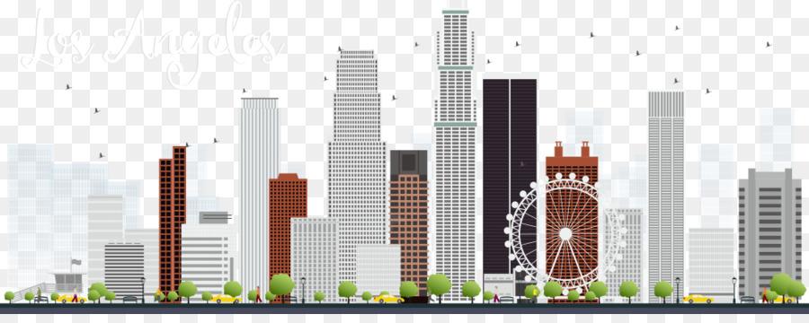 Los Angeles Skyline Clip Art