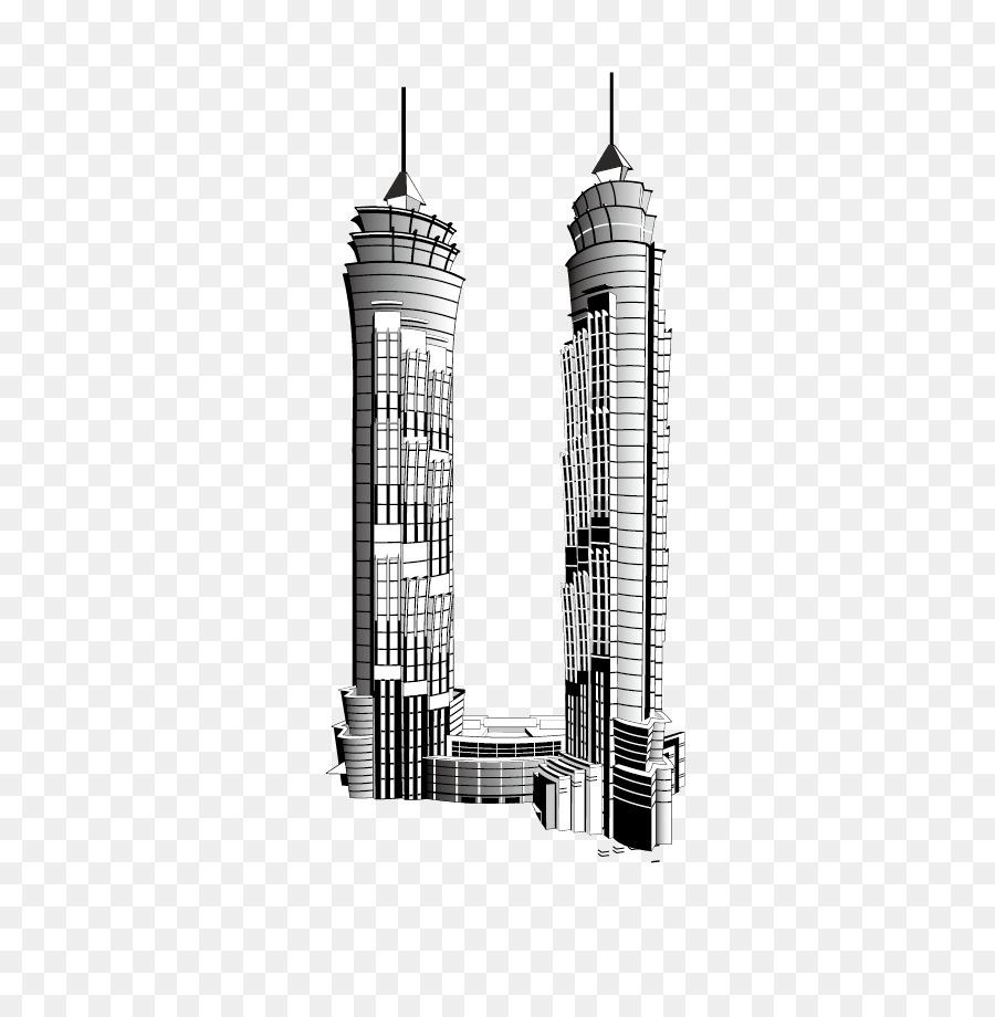 Burj Khalifa Kota New York Gedung Pencakar Langit Gedung Bertingkat