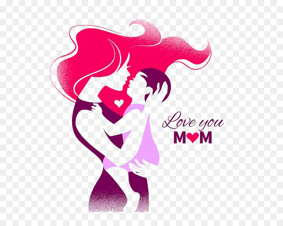 Mother's Day Silhouette Clip Art