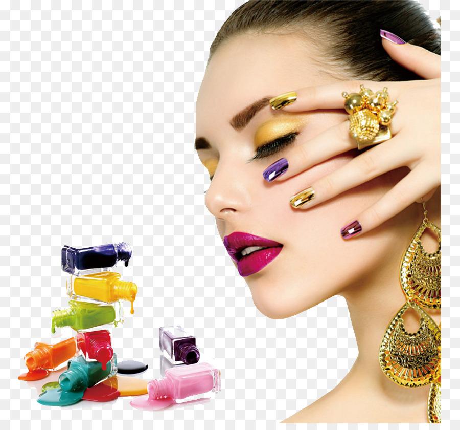 Nail Art Nail Salon Manicure Gel Nails Nail Elements Png Download