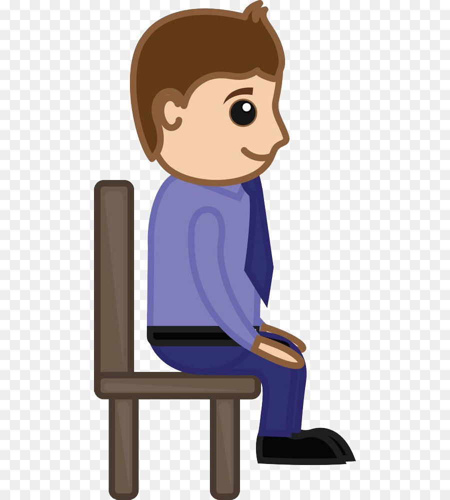 chair cartoon sitting clip art a man sitting on the bench png rh kisspng com seating clip art sitting clipart black and white
