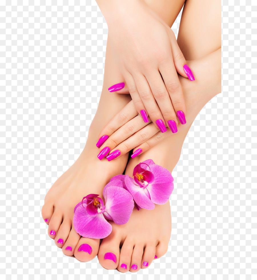 Pedicure Foot Manicure Spa Nail - Nail png download - 650*975 - Free ...