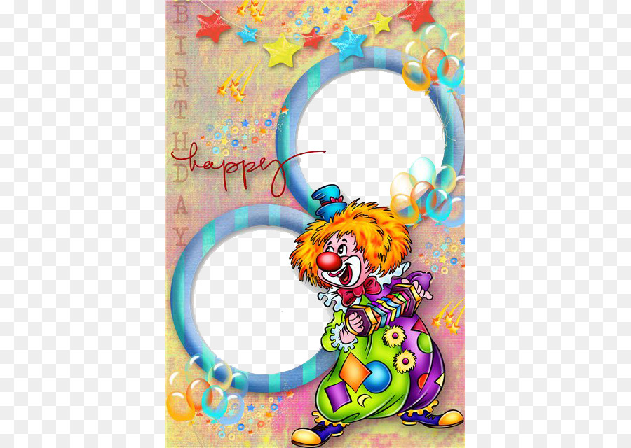 Feliz Cumpleaños a Ti de marco de Foto de la torta de Cumpleaños ...