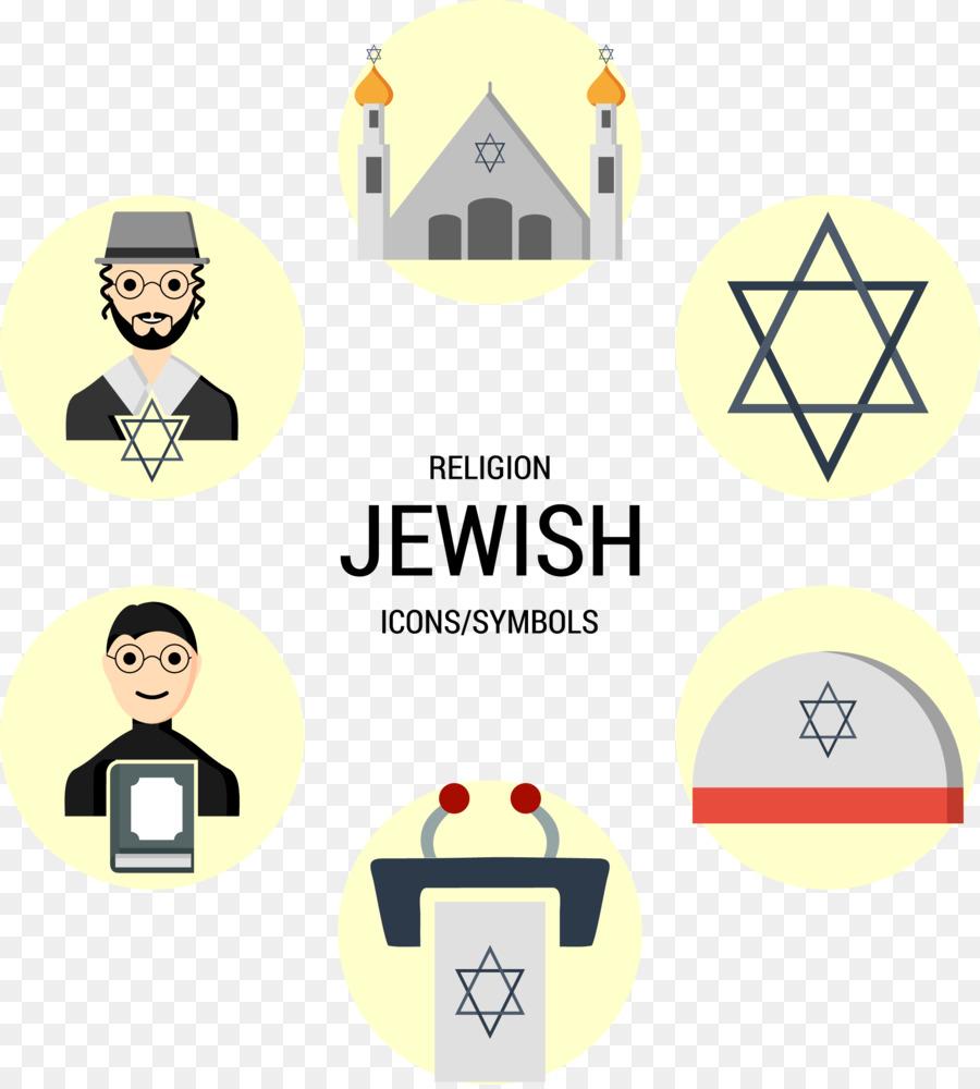 Jewish Symbolism Judaism Religion Religious Symbol Vector Hand