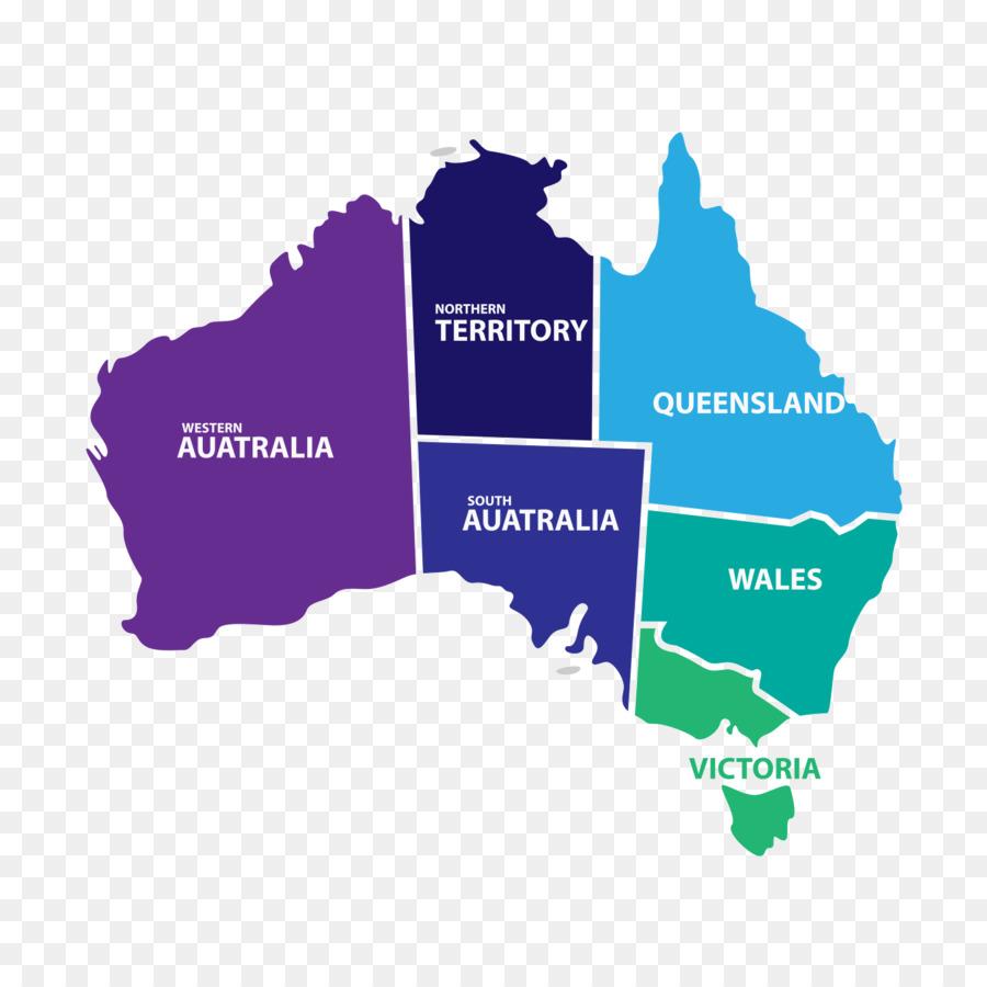 Flag Of Australia Shutterstock Map