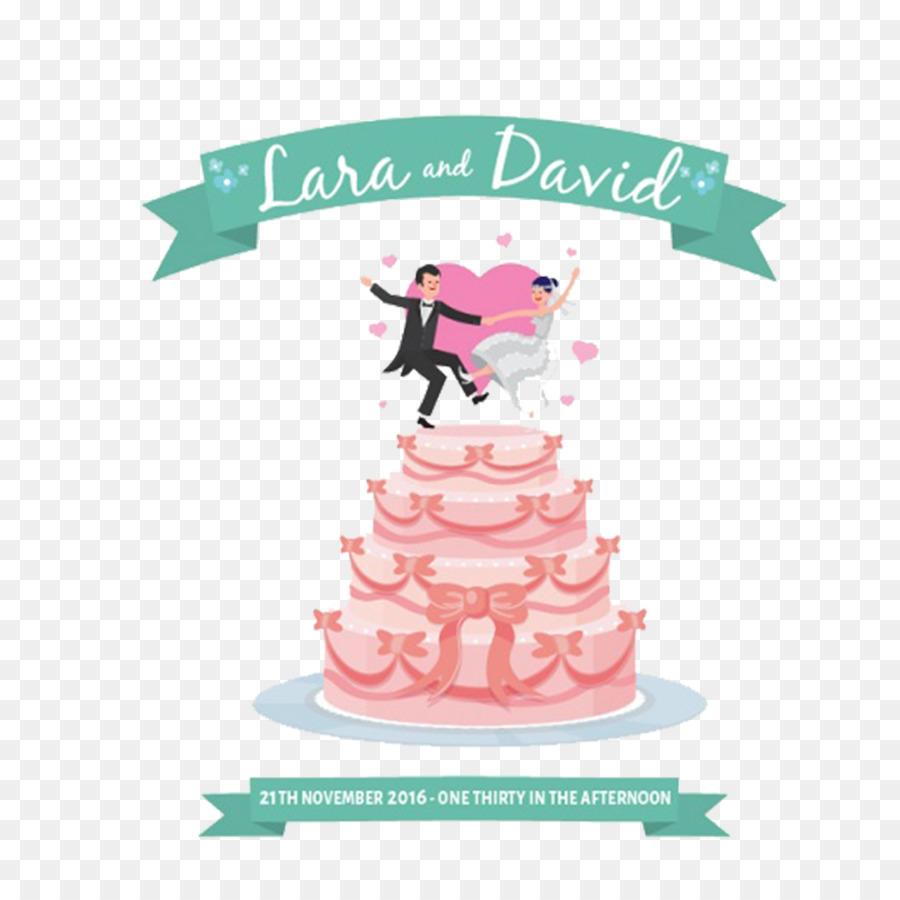 Wedding cake Birthday cake Cupcake Wedding invitation - Fresh and ...
