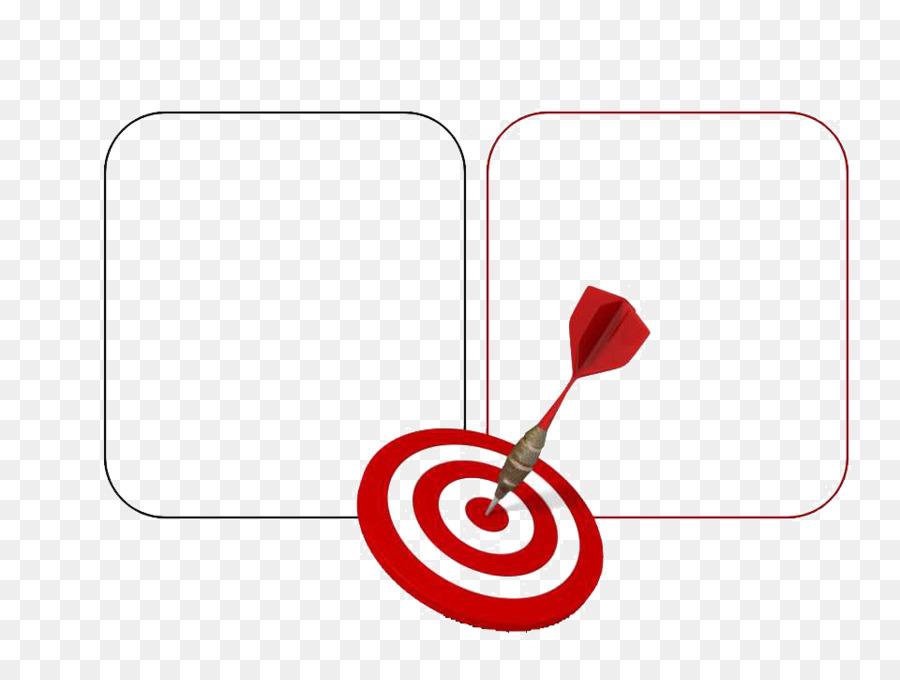 India Goal Company Business Organization - Darts target ppt template ...