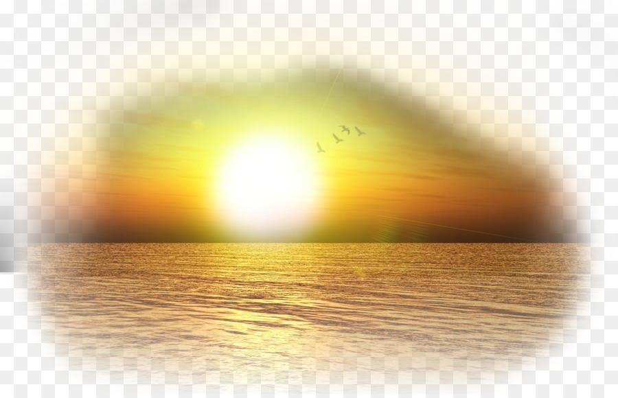 Sunlight Energy Yellow Wallpaper