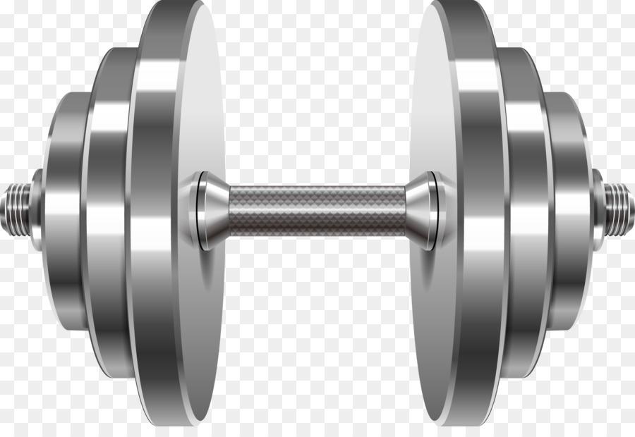 Weight training barbell dumbbell clip art vector barbell for Barbel art