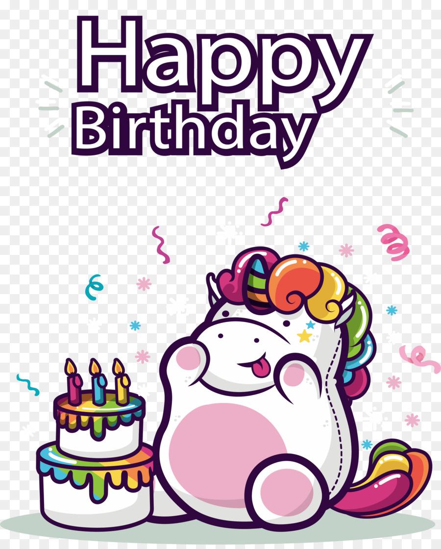 T Shirt Happy Birthday To You Unicorn