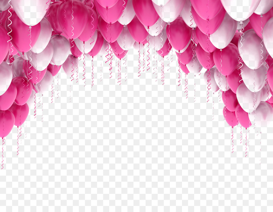 Balloon, Stock Photography, Blue, Pink, Petal PNG