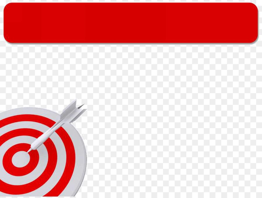 brand logo font darts target ppt template png download 960 720