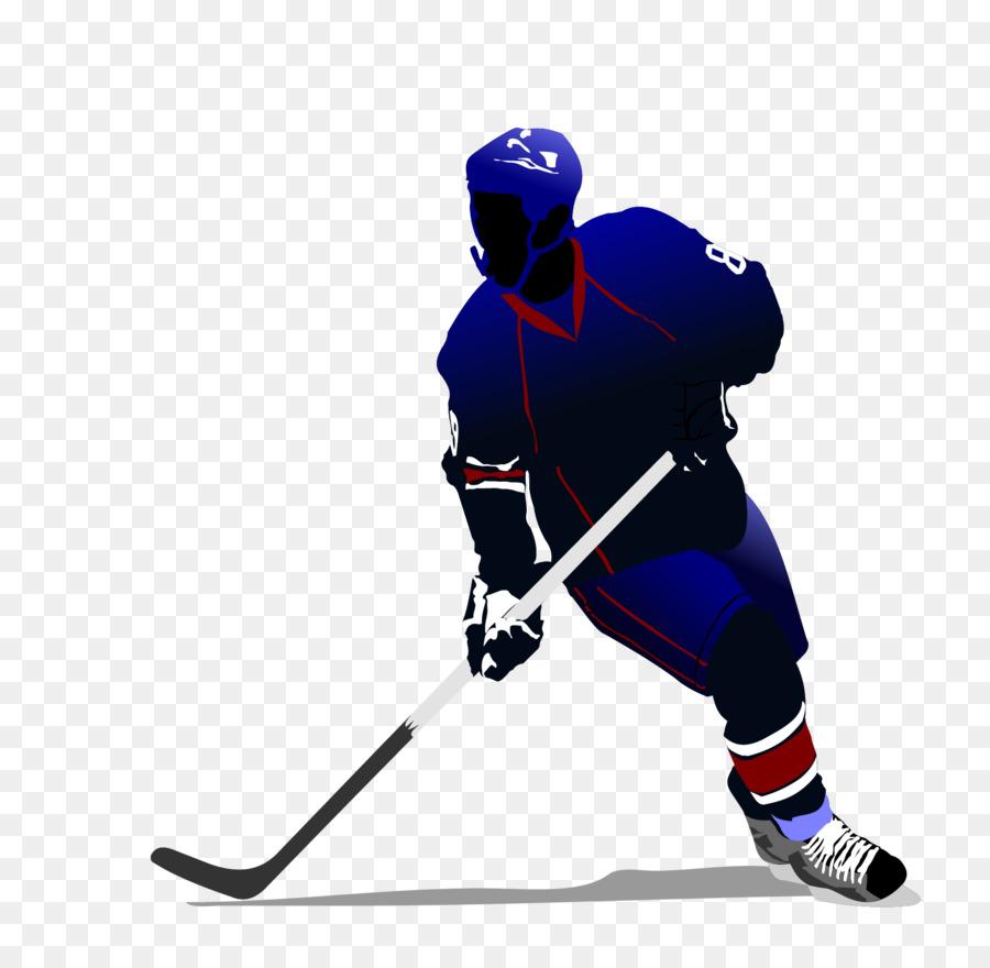 Hockey sobre hielo, hockey de Aire Clip art - Los jugadores de ...