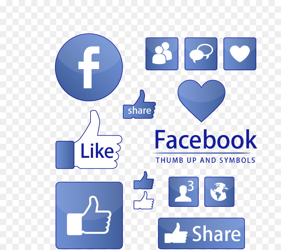 Facebook Like Button Symbol Icon Chart Social Information On