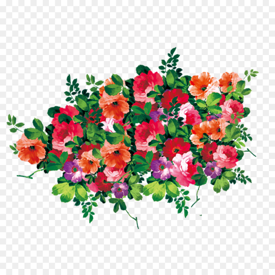 Flower Computer File Bouquet Of Flowers Png Image Png Download