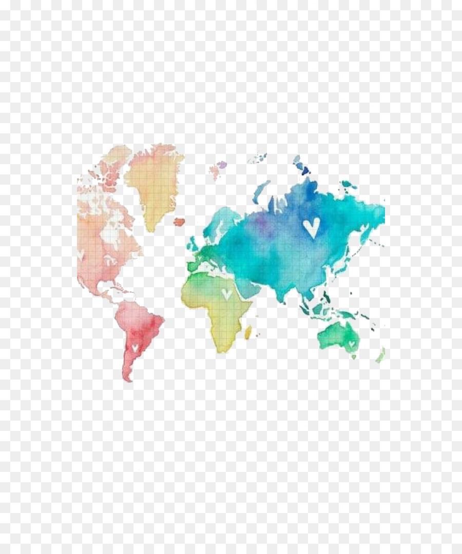 World map united states world map watercolor painting world png world map united states world map watercolor painting world gumiabroncs Images