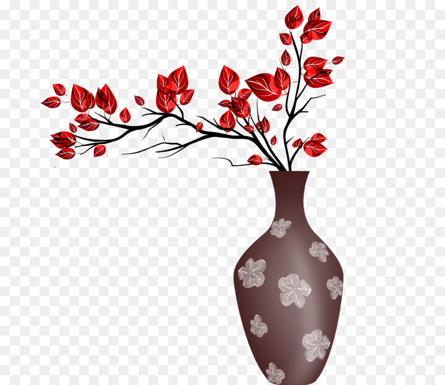 Vase Window Paper Wall Painting Brown Vase Png Download 1500
