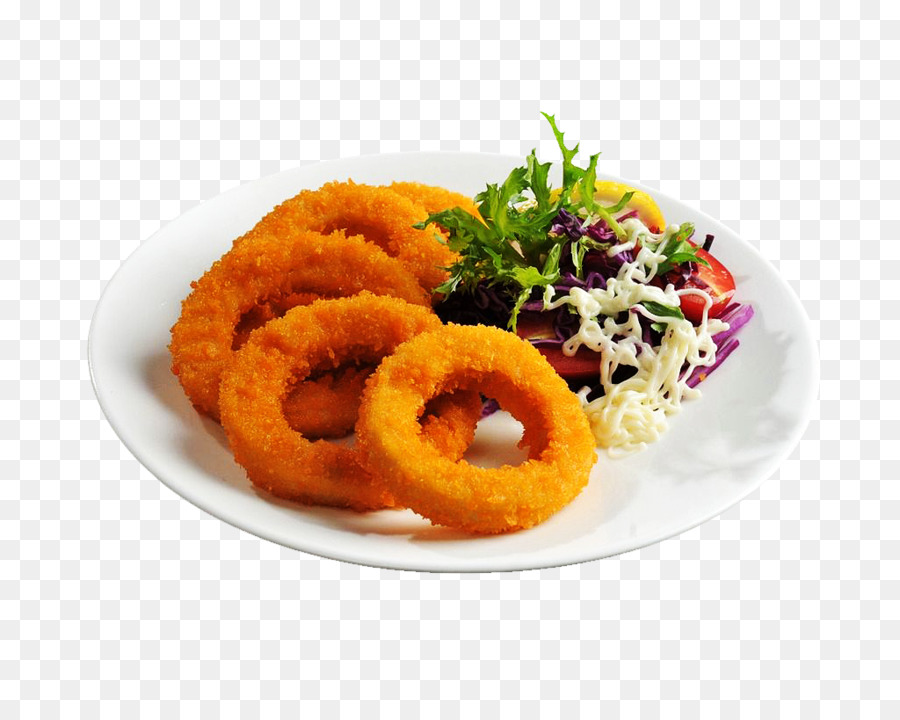 Onion Ring French Fries Fried Chicken Chicken Fingers European