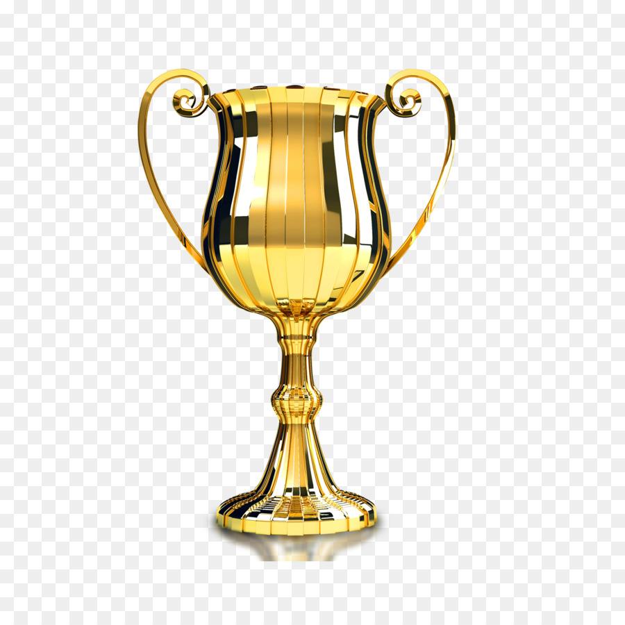 Trophy Gold Medal Award