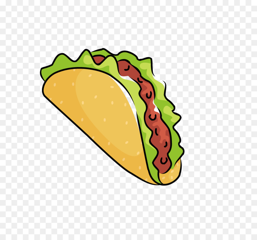 Hot Dog Hamburger Fast Food Taco Burrito Hot Dog Png Download