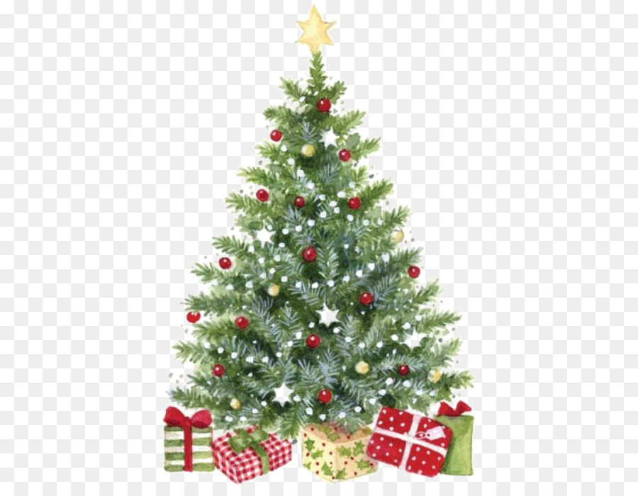 Throw Pillow Christmas Cushion Santa Claus Watercolor Christmas
