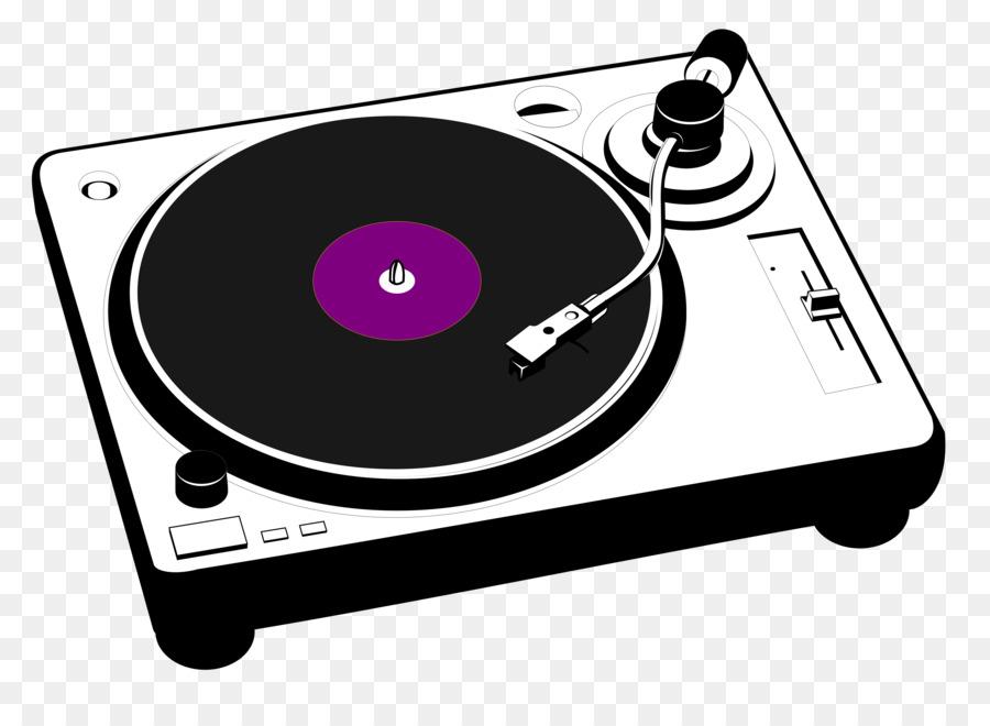 phonograph record disc jockey clip art cartoon turntable vector rh kisspng com dj turntable clipart turntable clip art free