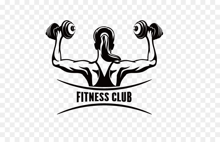 fitness centre physical fitness clip art woman barbell back of fig