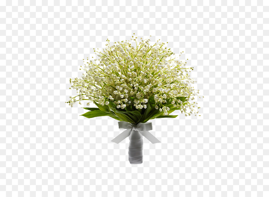 Flower bouquet Wedding invitation Lily of the valley - A bouquet of ...
