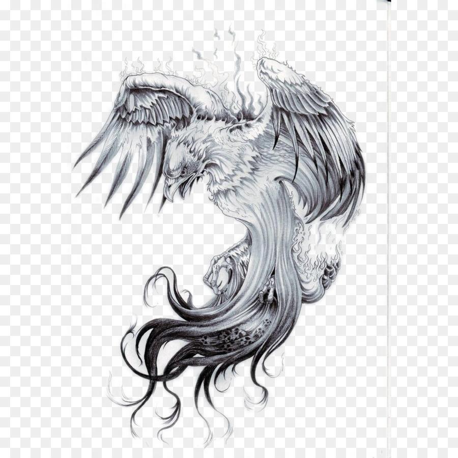 Phoenix Sleeve Tattoo Nautical Star Phoenix Tattoo 10401040