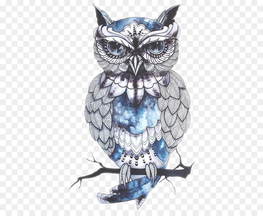 Owl Tattoo Artist Bird Drawing Owl Tattoo Png Download 728728