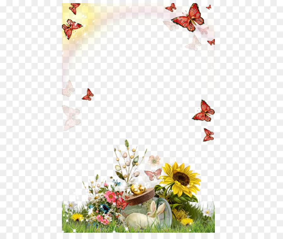 Bilderrahmen Android-Fotografie - Sonnenblume Blume Rahmen png ...