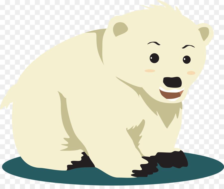 Белый медвежонок рисунок, немецком
