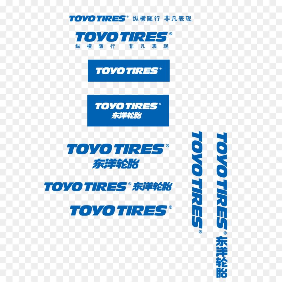 Logo Toyo Tire Rubber Company Brand Toyo Tires Logo Vector Png