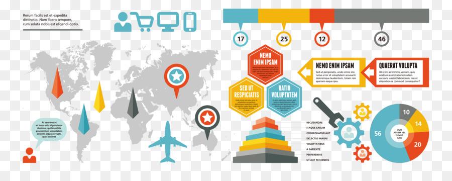 Infographic chart data visualization visual ppt world map infographic chart data visualization visual ppt world map vector gumiabroncs Gallery