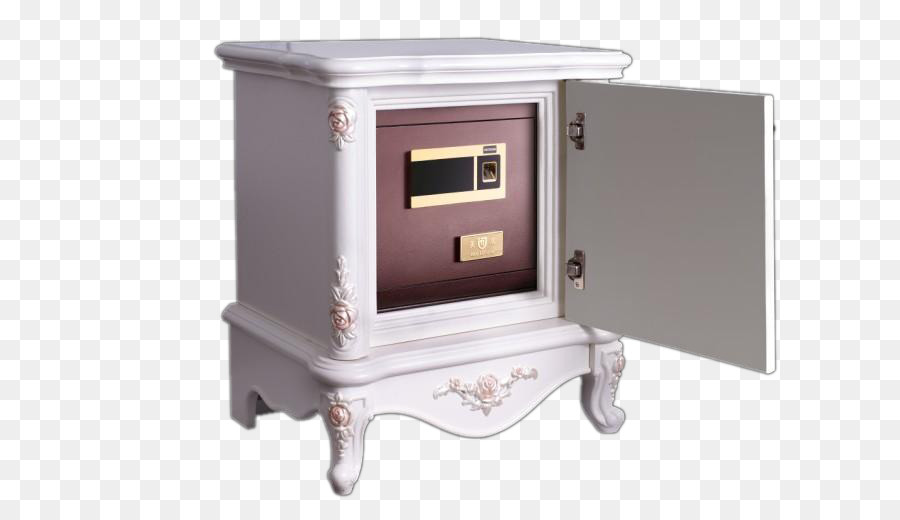 Nightstand Cabinetry Safe White   White Cabinets Fingerprint Safe