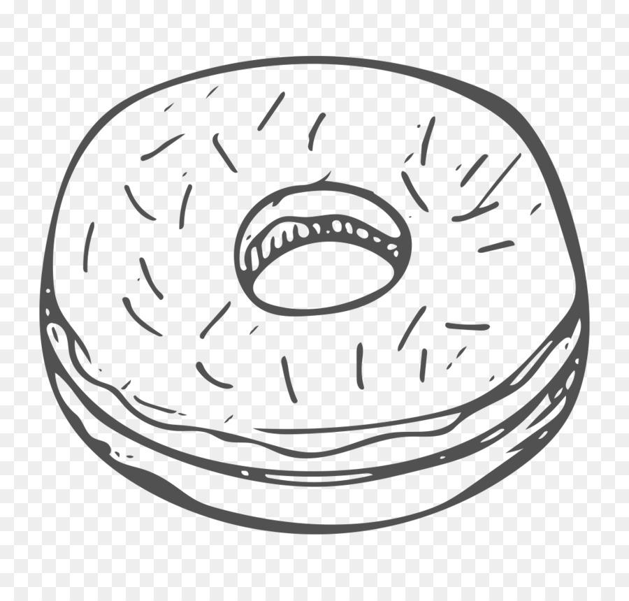белый пончик картинка чтобы